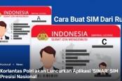 Korlantas Polri Luncurkan SIM Online, Download Aplikasi SINAR