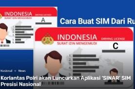 Korlantas Polri Luncurkan SIM Online, Download Aplikasi…