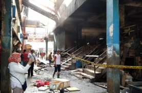 Blok C Pasar Minggu Kebakaran, Pemkot Minta Pedagang…