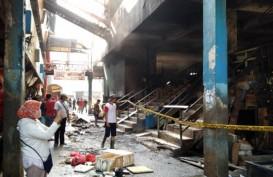 Kebakaran Pasar Minggu, Plt Wali Kota Jaksel: 398 Lapak Ludes Terbakar