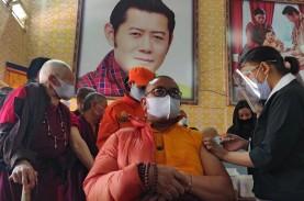Hanya 16 Hari, Bhutan Sukses Vaksinasi 93 Persen Penduduk…