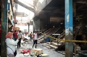 Pasar Inpres Pasar Minggu Terbakar, Pedagang dan Pengelola…