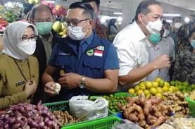 Mendag Lutfi dan Ridwan Kamil Pantau Harga Kepokmas…