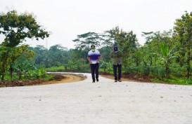 Pembangunan Jalan Lingkar Utara Jatigede Tahap 2 Baru 40 Persen