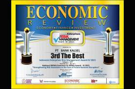 Bank Kalsel Raih Indonesia Enterprise Risk Management Award 2021