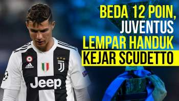 Juventus Menyerah Kejar Scudetto?