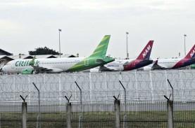 Ada Larangan Mudik, INACA Minta Biaya Parkir Pesawat…