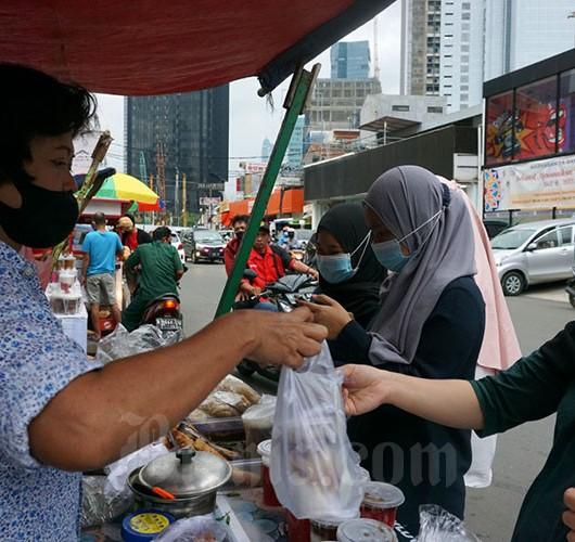 Sama Seperti Tahun Lalu, Pasar Takjil Benhil Sepi