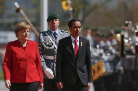 Jokowi dan Angela Merkel Gelar Pertemuan Bilateral,…