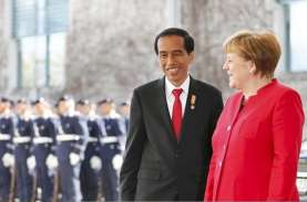 Di Hadapan Kanselir Jerman, Jokowi Sebut Kasus Covid-19…