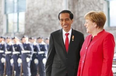 Di Hadapan Kanselir Jerman, Jokowi Sebut Kasus Covid-19 RI Membaik