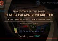 Produsen Pupuk Nusa Palapa (NPGF) Listing di Bursa Hari Ini, Siap Ekspansi
