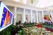 Di Hadapan Kanselir Jerman, Jokowi Tegaskan Sikap RI soal Konflik Myanmar