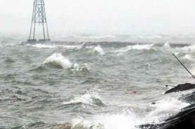 BMKG: Waspada Gelombang Tinggi Hingga 6 Meter di Utara…
