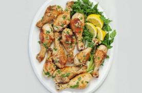 Paha Ayam Lemon Bawang Putih, Menu Praktis Berbuka…