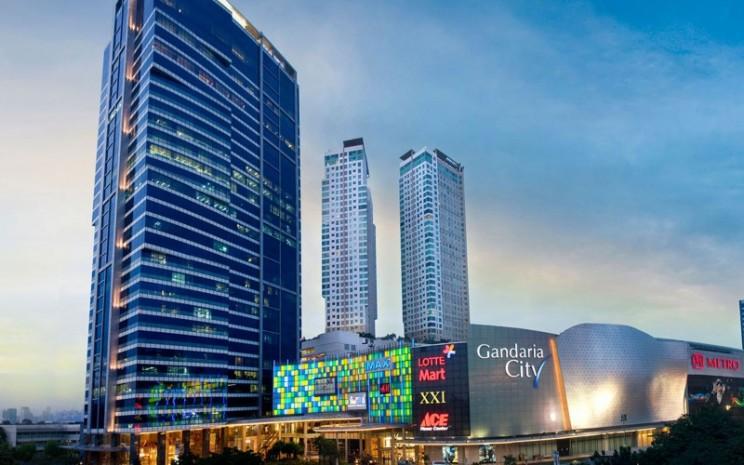 Gandaria City, salah satu proyek andalan PT Pakuwon Jati Tbk di Jakarta. Proyek ini merupakan proyek mixed use yang terdiri dari pusat perbelanjaan, hotel, dan apartemen. - pakuwonjati.com