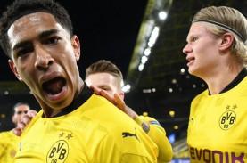 Liga Champions : Babak I Dortmund vs City 1–0, Liverpool…
