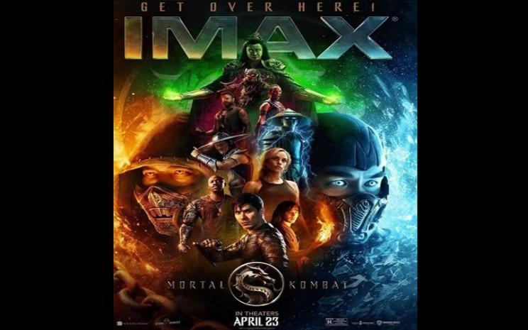 Poster film Mortal Kombat yang dibintangi Joe Taslim  -  Mortal Kombat the Movie