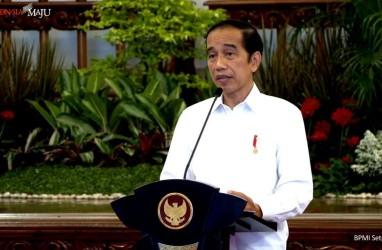 PMI Indonesia di Atas Kenormalan, Jokowi: Jaga Tren Positif Ini