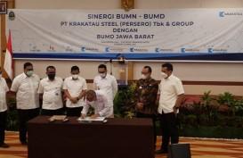 Ridwan Kamil Bawa 3 BUMD Jajaki Kerja Sama dengan Krakatau Steel
