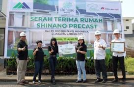 Teknologi Precast, Rumah di Jakarta Garden City Dibangun 75 Hari