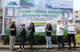 Teknologi Precast, Rumah di Jakarta Garden City Dibangun…