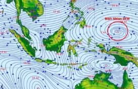 CEK FAKTA: Siklon Tropis 94W Lintasi Yogya 17-19 April? Ini Kata BMKG