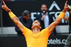 Nadal & Juara Bertahan Fognini Lolos ke 8 Besar Tenis…