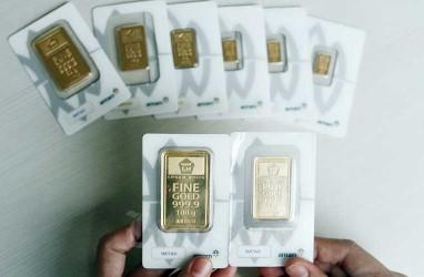 Harga Emas Raih Level Tertinggi 1 Bulan setelah Obligasi AS Anjlok