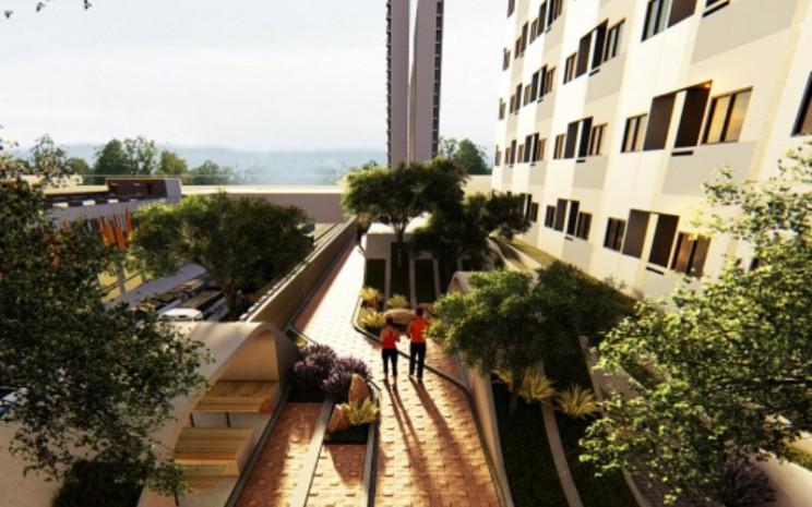 LRT City Cibubur dibangun di lokasi yang strategis, di antara dua kota utama, yaitu Kota Jakarta dan Kota Bogor.  - acp.id