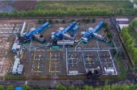 Gardu Listrik Pembangkit Tenaga Gas di Jakabaring…