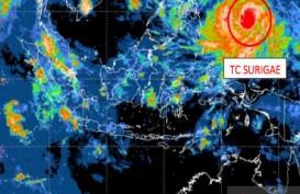 Efek Siklon Tropis Surigae terhadap Cuaca Indonesia dalam 24 Jam ke Depan