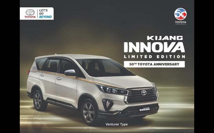 Toyota Kijang Innova edisi 50 tahun Toyota Indonesia.  - Istimewa