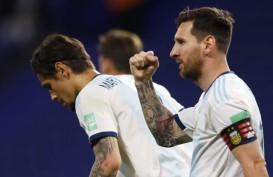 3 Jersey Bertanda Tangan Messi Bantu Vaksin untuk Copa America