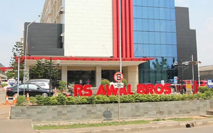 Salah satu portofolio investasi Grup Saratoga, Rumah Sakit Awal Bros Tangerang. Sejak April 2020, rumah sakit ini berganti nama menjadi Primaya Hospitals. - primayahospitals.com