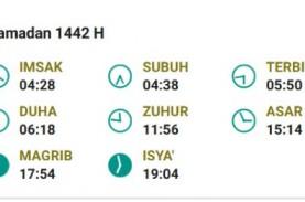 Jadwal Imsak, Sabtu 17 April 2021 Wilayah Jakarta