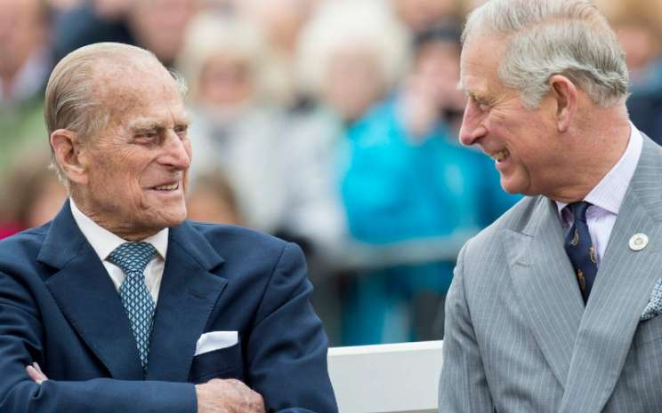 Pangeran Philip, dan Pangeran Charles.  - insider