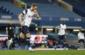 Dua Blunder Keane Disambar Kane, Spurs Imbangi Everton 2–2