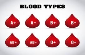 37,9 Juta Penduduk Lapor Golongan Darah, Jenis B- Paling Langka