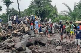 Jembatan Darurat Waiburak di Flores Timur Selesai Dibangun