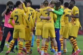 Lionel Messi Cetak 2 Gol, Barcelona Menang 4–0, Juara…