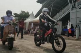 Menhub Jajal E-Mostra, Sepeda Motor Listrik Buatan…