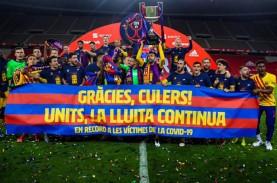 Bangganya Messi Jadi Kapten Tim Barcelona Sang Juara…