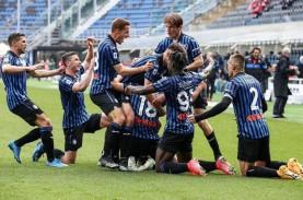 Hasil Liga Italia : Juventus Dihajar Atalanta, Milan…