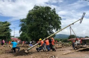 PLN Sukses Bangun Tower Emergency di Pulau Timor NTT Setelah Siklon Tropis Seroja