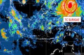 Siklon Tropis Surigae Melemah dan Menjauhi Indonesia