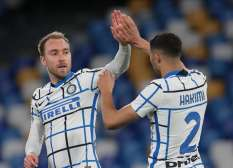 Hasil Lengkap Liga Italia : Napoli vs Inter Seri, Roma Disikat Torino