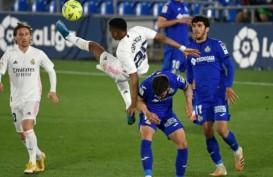 Real Madrid Imbang di Derbi vs Getafe, Makin Ditinggal Atletico