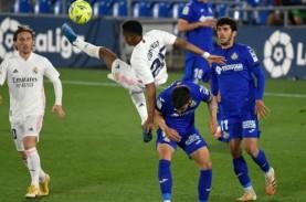 Real Madrid Imbang di Derbi vs Getafe, Makin Ditinggal…