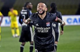 Menang Tandang, Monaco & Lyon Ketat Berebut Tiket…